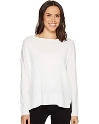 NYDJ - Long Sleeve Sweater With Exposed Seams - Lyst