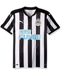 Lyst - Puma Newcastle United 2017 18 Home Kit Infant in Black for Men 81178f49a