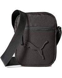 8e5c947215 PUMA Sole Cross Bag in Black for Men - Lyst