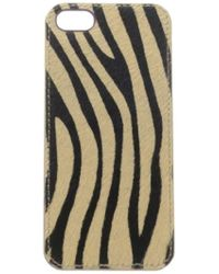 Lucky Brand - Zebra Iphone Cell Phone Case - Lyst