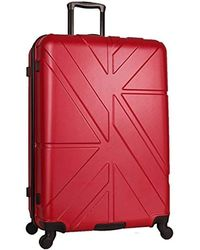 """Ben Sherman - 28"""" Abs 4-wheel Check In Luggage - Lyst"""