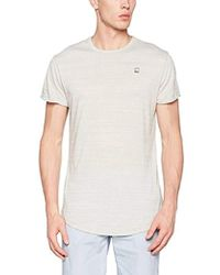 3e7c303a G-Star RAW - Vontoni Crew Neck Short Sleeve Scalloped High Low T-shirt