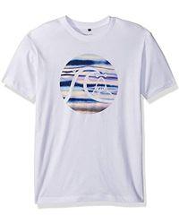Quiksilver - Neon Smog Tee T-shirt - Lyst