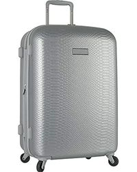 """Anne Klein - 20"""" Hardside Carry On Spinner Luggage, Silver - Lyst"""