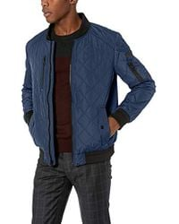Calvin Klein - Quilted Bomber With Patches - Lyst