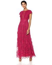 460ed1e396d ML Monique Lhuillier - Lace Open Back Gown - Lyst