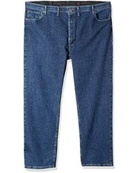 8675cc80 Wrangler - Authentics Big And Tall Big & Tall Classic Comfort-waist Jean -  Lyst