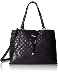 Calvin Klein - Quilted Distressed Novelty Tote - Lyst