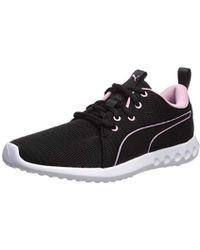 2cfb963d5cbb Lyst - PUMA Carson Runner Tie-dye Women s Running Shoes in Black