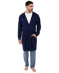42b8e310c0 Lyst - Michael Kors Modal French Terry Robe in Black for Men