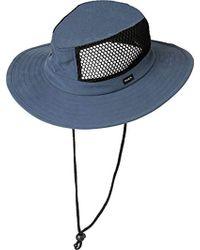 b25f1f84 ... good rvca ground control safari hat lyst 7eb59 f0abc
