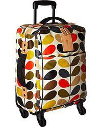 Orla Kiely - Classic Multi Stem Luggage Travel Cabin Case - Lyst