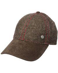 Robert Graham Headwear Camp Eagle Baseball Cap - Brown