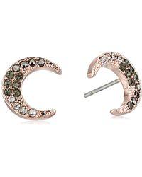 Rebecca Minkoff - New Moon Stud Earrings - Lyst