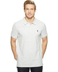 U.S. POLO ASSN. - Twisted Yarn Shirt - Lyst