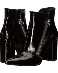 Nine West - Russity Leather Ankle Boot - Lyst