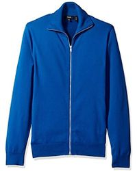 Theory - Kampers Sfz Neofil Tech Cotton Full Zip - Lyst