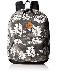 O'neill Sportswear - Shoreline Backpack, Black, One - Lyst