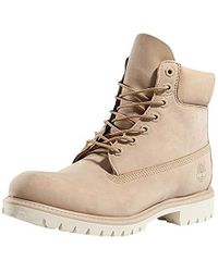 583599df0aef17 Lyst - Timberland  premium Heritage  Round Toe Boot in Brown for Men