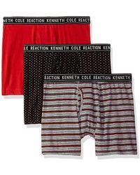 Kenneth Cole Reaction - Moisture Wicking Boxer Briefs Underwear, Multipack - Lyst