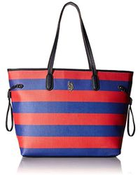 06f4bfb23a02 Us Polo Association Evelyn Tote - Lyst