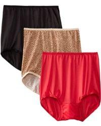 f604f8316400 Bali - Skimp Skamp Brief Panty Number 2633 (pack Of 3) - Lyst