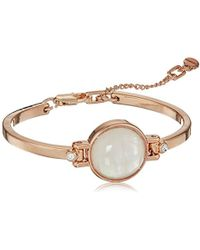 Kenneth Cole S Blush Moonstone Flex Bracelet One Size Lyst