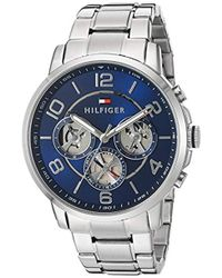 Tommy Hilfiger - Quartz Stainless Steel Watch, Color:silver-toned (model: 1791293) - Lyst