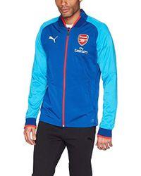 PUMA - Arsenal Fc Stadium Jacket - Lyst
