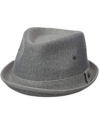 7195cd1c726 Lyst - Original Penguin Straw Porkpie Hat in Brown for Men