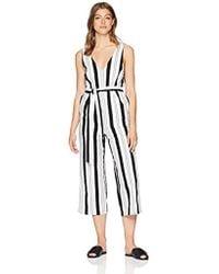 62087ea82e0 MINKPINK - Stripe Linen Jumpsuit - Lyst