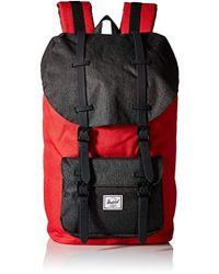 c174aa31f1c9 Lyst - Herschel Supply Co. Little America Backpack in Black for Men
