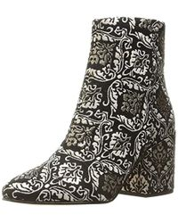c5c09b354 Lyst - Sam Edelman  cambell  Leather Ankle Boots in Brown
