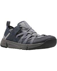 Clarks - Tritrack Flow Sneaker - Lyst
