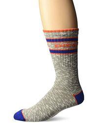 DIESEL - Flamed Cotton Socks - Lyst