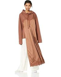 6553503c9b PUMA Oversized Hoodie Dress in Black - Lyst