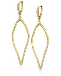 Alexis Bittar - Leverback W/sculpted Aura Tear Drop Earrings - Lyst