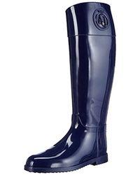 Armani Jeans - Aj Tall Rain Boot - Lyst