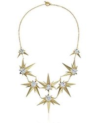 """Noir Jewelry - Orionis Necklace, 19"""" - Lyst"""