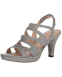 9a053d08dab4 Lyst - Naturalizer  pressley  Slingback Platform Sandal