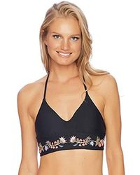Ella Moss - Summer Serenade Crop Bikini Top - Lyst