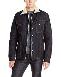 Nudie Jeans - Lenny Jacket In Dry Ring - Lyst