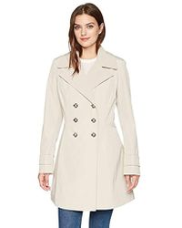 Ivanka Trump - Double Breasted Raincoat - Lyst