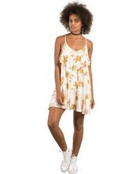 Volcom - Hey Slims Mini Cami Dress - Lyst