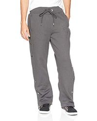 True Religion - Side Snap Embossed Logo Sweatpant - Lyst