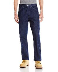 a53e9ef5a2a2 Lyst - Wolverine Flame Resistant Hammer Loop Pant in Blue for Men