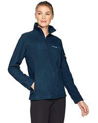 de9eb97a976 Lyst - Columbia Fast Trek Ii Full Zip Fleece Jacket in Green - Save 50%
