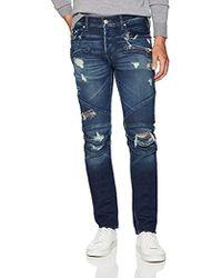 Hudson Jeans Blinder Biker Moto Jeans