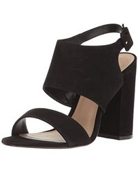 00a5a797bc6 Lyst - ALDO Mckinnons Embellished Barely There Leather Heeled ...