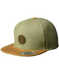 fea548acf095a Volcom Quarter Straw Hat (natural) Caps in Natural for Men - Lyst